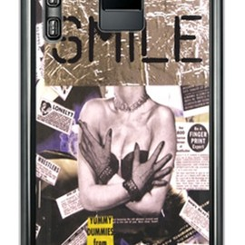 SECOND SKIN - Code;C 「Eternity」 (クリア) / for ELUGA power P-07D/docomo