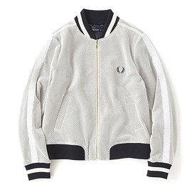 FRED PERRY - MESH BOMBER JACKET