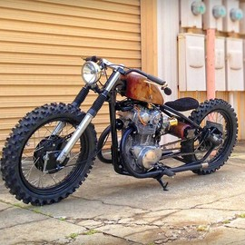 Steel Bent Customs - The Seven1 HONDA CB450
