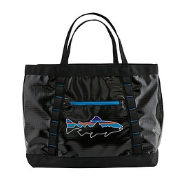 patagonia - Black Hole® Gear Tote 61L, Black w/Fitz Trout (BFZT)