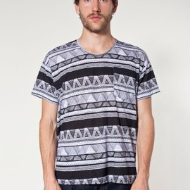 American Apparel - Le New Big Pocket Tee (afrika)