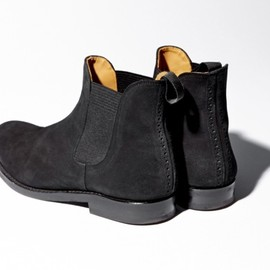 N.HOOLYWOOD - suede side gore boots