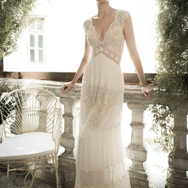lihi hod - wedding dress front view