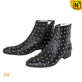 CWMALLS - Cool Leather Dress Boots Shoes for Men CW769822 - cwmalls.com