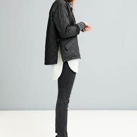 Madewell - Cocoon Side-Zip Bomber