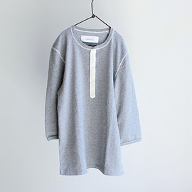 curly - QS BD HENLEY NECK TEE
