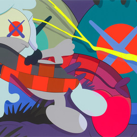 KAWS - CAMO CAN'T HELP YOU, 2013