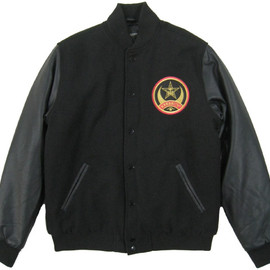 OBEY - CRESCENT MOON VARSITY JACKET