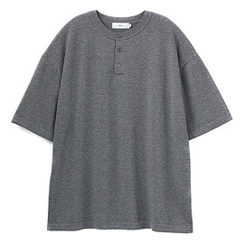 Graphpaper - Suvin S/S Henley Neck Knit