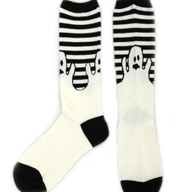 Candy Stripper - OBAKE BORDER SOCKS