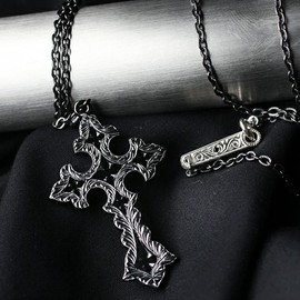 Loree Rodkin - notredome cross all sv necklace/BLI/ネックレス