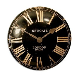 Newgate Clocks - Convex Dial Clock VEXBLK