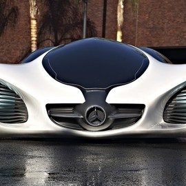 Mercedes - Biome Concept Car, Front View