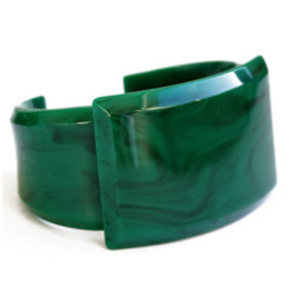 TOGA - Artificical Marble small Bangle (green)