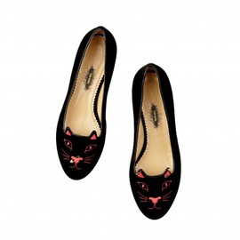 Charlotte Olympia - Kitty Anarchy by TOM BINNS