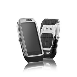 "TAG Heuer - ""Link"" Mobile Phone, stainless steel and aligator"