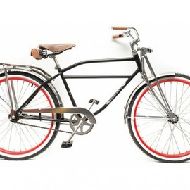 Mind the Chap - Worksman Cycles - The Retro Cruiser Black