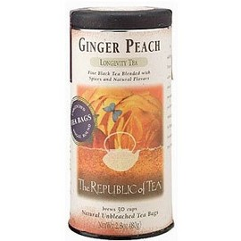 The Republic of Tea - GINGER PEACH