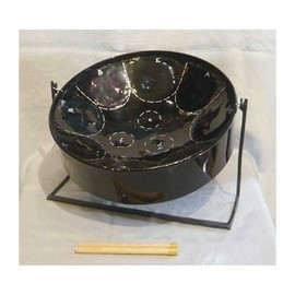 PANLAND MICP04 Mini Steel Pan BLACK