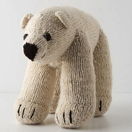 Kenana Knitters - stuffed polar bear