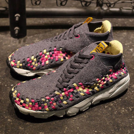 Nike - AIR FOOTSCAPE WOVEN CHUKKA 「LIMITED EDITION for EX」 GRY/PPL/PINK