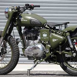 House Of Thunder USA /  Eric Vault - Royal Enfield Bobber