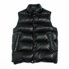 CHROME HEARTS - Leather Down Vest