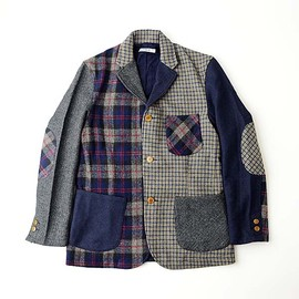 GAIJIN MADE - WOOL CRAZY 3B JACKET