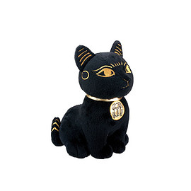 Mini metal Egyptian cat