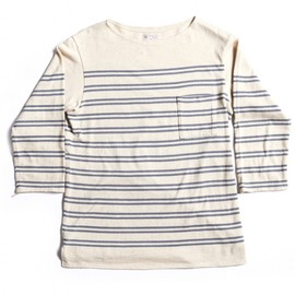 OLD JOE & CO. - INDIGO STRIPE BASQUE SHIRTS