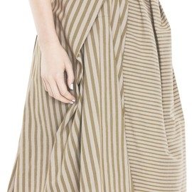 Acne - Maurice Stripes Beige stripe