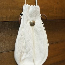goro's - deer skin shoulder bag