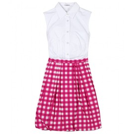 miu miu - SHIRTDRESS WITH BALLOON SKIRT
