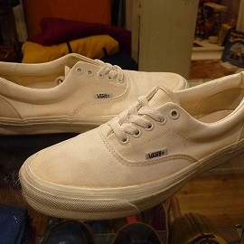 "vans - 「<used>80-90's vans ERA white""made in USA"" size:US9?(27?cm) 14800yen」販売中"