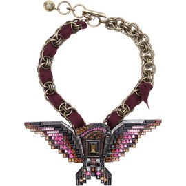 LANVIN - Eagle Pendant Necklace