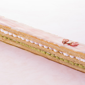 Strawberry éclair