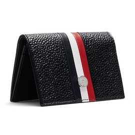 BLACK FLEECE BY Brooks Brothers - Pebble Leather Business Card Case
