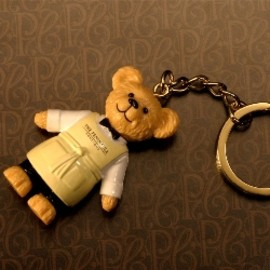 The Peninsula Boutique  - Bear Key Ring