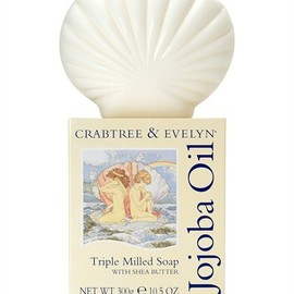 Crabtree & Evelyn - Jojoba Oil Triple Milled Shell Soap 300g