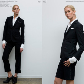 THOM BROWNE - Outfit 9 From 2008 S/S