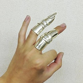 Fangophilia - Fangophilia One joint armour ring