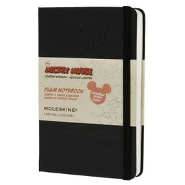 Moleskine - Moleskine Limited Edition Mickey Mouse Pocket Plain Notebook - Black (3.5 x 5.5) (Limited Editions)