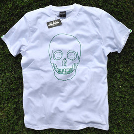 TeesAndChips - Skull tee acid couple inside eyes.Many colors of Skull.Men's T-Shirt color by Tees & Chips