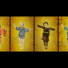 """teamLab チームラボ株式会社, 丸若屋 - Animation for the release of MARUWAKAYA """"Inden iPhone Cover"""""""