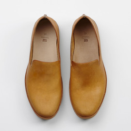 Koln #cognac/rubber sole