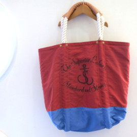 THE SUPERIOR LABOR - 【THE SUPERIOR LABOR】SL018/Beach Bag (RED)