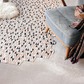 elisa strozyk - COLORED WOODEN RUGS