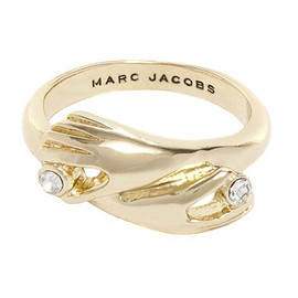 MARC BY MARC JACOBS - MARC JACOBS マークジェイコブス Hug Ring リング 指輪 GOLD