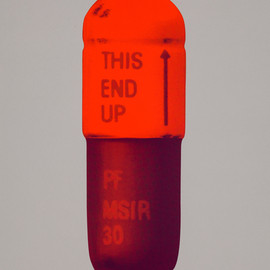 Damien Hirst - The Cure – Battleship Grey/Fizzy Orange/Berry