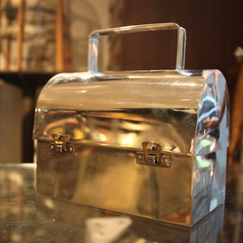 Cartier - sterling lunch box